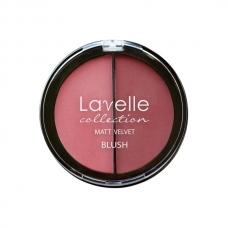 LavelleCollection румяна компактные 2-цветные тон 01 розовый