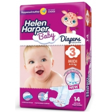 Подгузники Helen Harper Baby 3 (4-9 кг) 2 шт