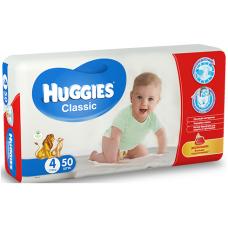 Подгузники Huggies Classic 4 (7-18 кг) 50 шт