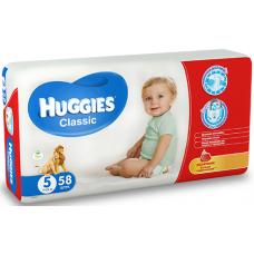 Huggies Подгузники Classic 5 (11-25 кг) 58 шт