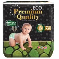Подгузники Baby Care ECO Premium Quality 3 (4-9 кг) 72 шт