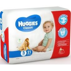 Подгузники Huggies Classic 5 (11-22 кг) 21 шт