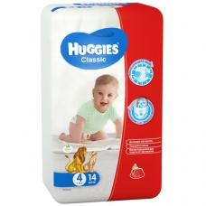 Подгузники Huggies Classic 4 (7-18 кг) 14 шт