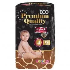 Подгузники Baby Care ECO Premium Quality 4 (7-18кг) 12 шт