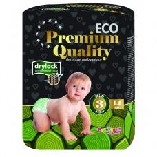 Подгузники Baby Care ECO Premium Quality 3 (4-9кг) 14 шт