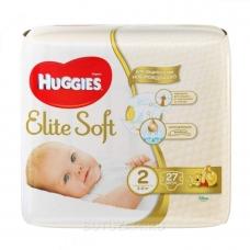 Подгузники Huggies Elite Soft 2 (4-7 кг) 27 шт