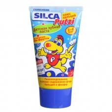 Зубная паста SILCA Putzi плюс кальций. От 2 до 6 лет. 50 мл.