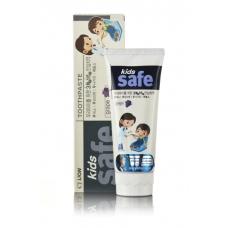 CJ Lion Детская зубная паста Kids Safe со вкусом винограда от 3-х до 12 лет 90 гр.