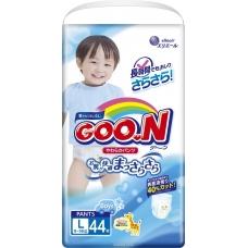 GOON Трусики-подгузники для мальчиков L (9-14 кг) 44 шт