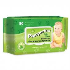 Pamperino влажные детские салфетки 80 шт.