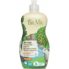 Средство для мытья посуды BioMio BIO-CARE c эфирным маслом мандарина 450 мл.