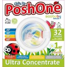 PoshOne Стиральный порошок Ecobaby Delicate 1 кг.