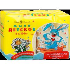 Мыло туалетное «Детское» ромашка 4*100г.