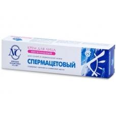 Крем «Спермацетовый» питательный для сухой и нормальной кожи 38г.