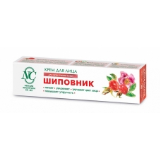 Крем «Шиповник» улучшающий цвет лица, для всех типов кожи 40мл.