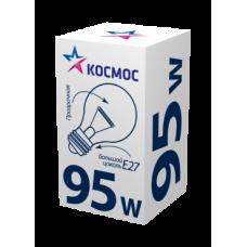 Лампа накаливания КОСМОС тип стандарт А55 95Вт Е27