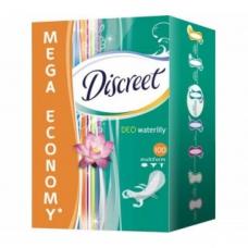 Ежедневные прокладки Discreet Водная лилия 100 шт.