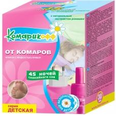 КОМАРИКОФФ Жидкость+комплект от комаров 45 ночей для детей