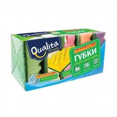 Qualita Губки Bubble effect 5 шт.
