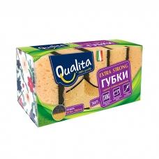 Qualita Губки Extra strong 5 шт.