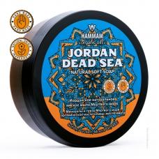 HAMMAM Натуральное мягкое мыло JORDAN DEAD SEA 220 г.