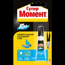 Клей-гель МОМЕНТ Супер Запайка 3г.