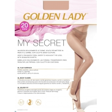 Golden Lady Колготки My Secret 20 Nero 3