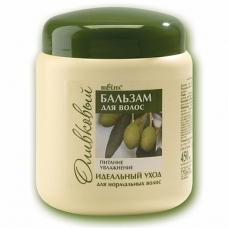 БЕЛИТА Бальзам для нормальных волос оливковый Питание & Увлажнение 450мл.