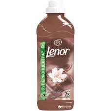 Кондиционер для белья Lenor ароматерапия Янтарный цветок концентрированный 930 мл.