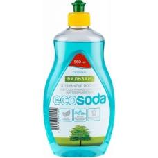 EcoSoda Бальзам для мытья посуды и детских принадлежностей 1000 мл.