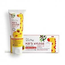Hanil Xylose KID'S Strawberry Зубная паста с экстрактом клубники для детей 60 г.