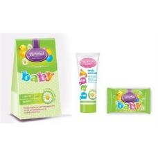 Детский подарочный набор Мечта BABY с ромашкой Крем 75мл, Мыло 90гр