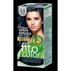 FitoColor 1.1 Иссиня-черный Стойкая крем-краска для волос