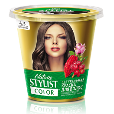 Краска для волос Nature Stylist Color тон 4.3 шоколад
