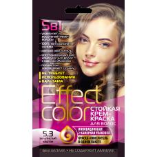 Effect Color 5.3 Золотистый каштан Стойкая крем- краска для волос