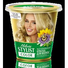 Краска для волос Nature Stylist Color тон 11.0 перламутровый блонд