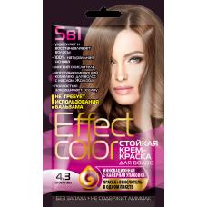 Effect Color 4.3 Шоколад Стойкая крем-краска для волос
