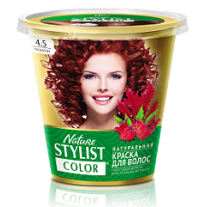 Краска для волос Nature Stylist Color тон 4.5 махагон