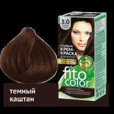 FitoColor 3.0 Темный каштан Стойкая крем-краска для волос