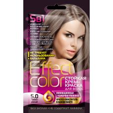 Effect Color 5.0 Темно-русый Стойкая крем-краска для волос
