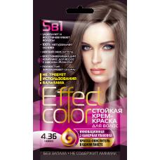 Effect Color 4.36 Мокко Стойкая крем-краска для волос