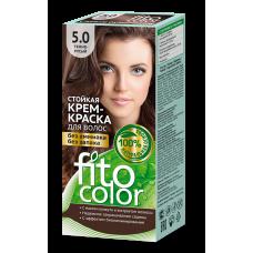 FitoColor 5.0 Темно-русый Стойкая крем-краска для волос