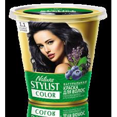 Краска для волос Nature Stylist Color тон 1.1 иссиня-черный