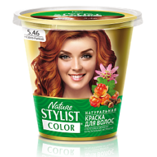 Краска для волос Nature Stylist Color тон 5.46 медно-рыжий