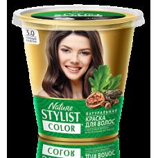 Краска для волос Nature Stylist Color тон 3.0 темный каштан