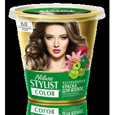 Краска для волос Nature Stylist Color тон 6.0 натуральный русый