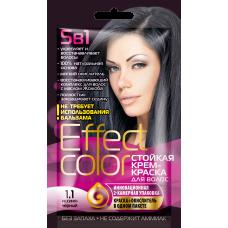 Effect Color 1.1 Иссиня-черный Стойкая крем- краска для волос