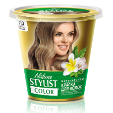 Краска для волос Nature Stylist Color тон 7.0 светло-русый