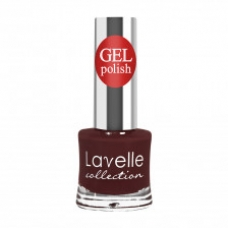 Lavelle Collection лак для ногтей  GEL POLISH 23 коричнево-бордовый 10 мл.
