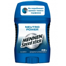 Дезодорант Mennen Speed stick Neutro Power 50 г.